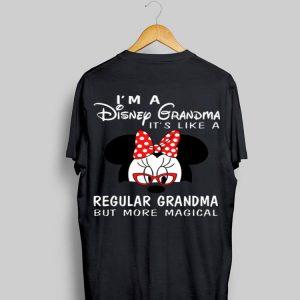 Minnie mouse I'm a Disney Grandma it's like a regular grandma but more magical shirt