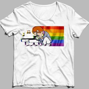 Elton John And Piano Rocketman LGBT shirt