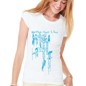 Never Miss a Chance to Dance Crossword puzzle shirt