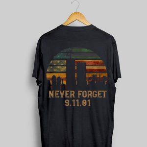 Never forget Patriotic 911 American Flag Vintage shirt