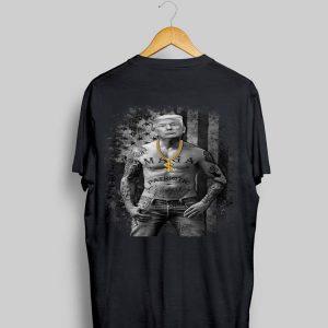 Patriotic Gangster Anti Liberal Pro Trump Republican shirt