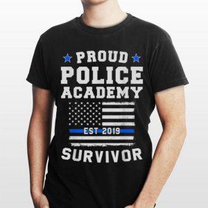 Proud Police Academy Survivor shirt
