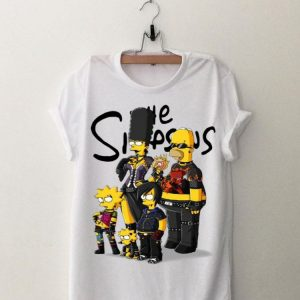 Simpson Family Rock N Roll shirt