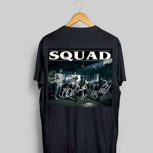 Squad Signatures Characters Stranger Things 3 shirt