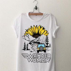 Sunflower Jeep Wander Woman shirt