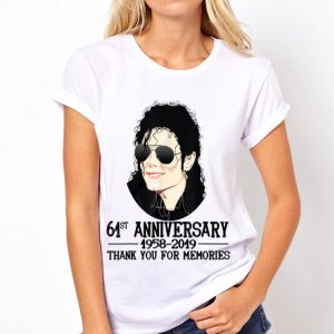 Thank You For The Memories Michael Jackson 61st shirt