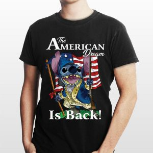 The American Dream Is Back Stitch shirt