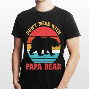 Vintage Don't Mess With Papa Bear shirt
