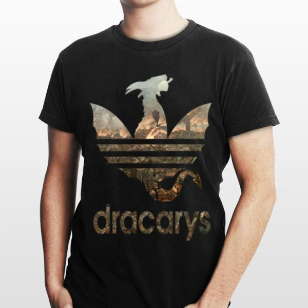Adidas Dracarys Winterfell Game Of Thrones shirt