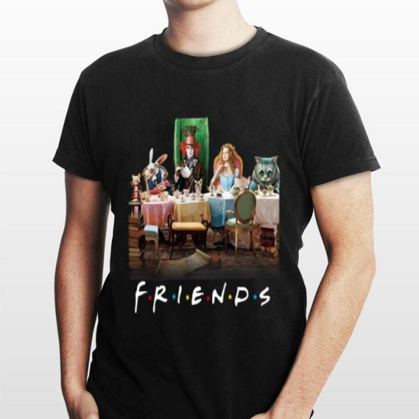 Alice In Wonderland Tim Burton Friends shirt