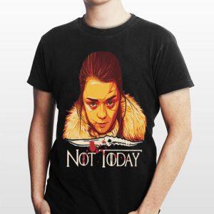 Arya Stark Catspaw Blade Not Today Game of Thrones shirt