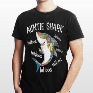 Auntie Shark Tattoos Tattoos Tattoos shirt