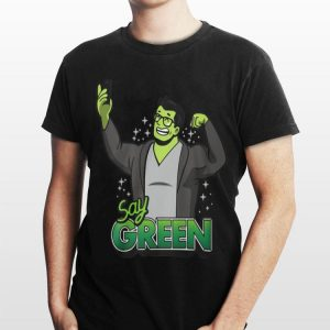 Avengers Endgame Say Green Professor Hulk shirt