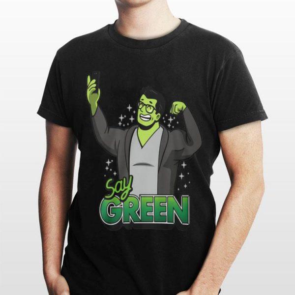 Avengers Endgame Say Green Professor Hulk shirt