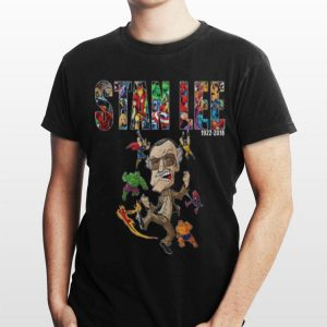 Avengers Superhero comic Marvel Stan Lee 1922-2018 shirt