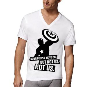 Captain America Some People Move On But Not Us Avengers Endgame shirt