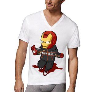 Chibi Iron Man FORMULA 1 Nike Avengers shirt