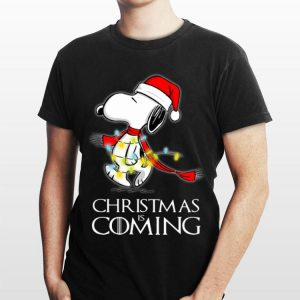 Christmas Is Coming Snoopy Game Of Thrones shirt