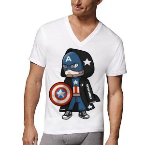 Converse Avengers Captain America Chibi shirt