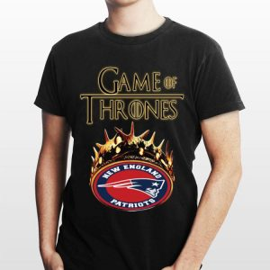 Crown New England Patriots Game Of Thrones shirt