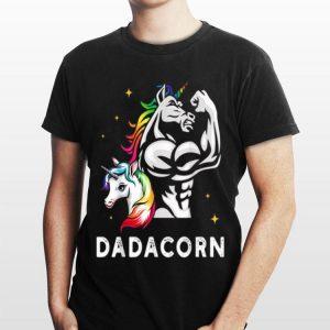 Dad Fathers Day Unicorn Dadacorn shirt