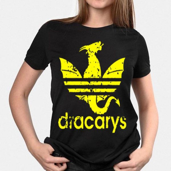 Dragon Adidas Dracarys Game Of Thrones shirt