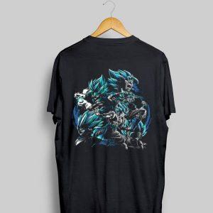 Dragon ball z Son Goku fusion Vegeta shirt
