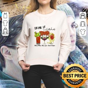 Funny Drink up witches Hocus Pocus Bloody Mary Wine Ifred Sarah Sangria shirt