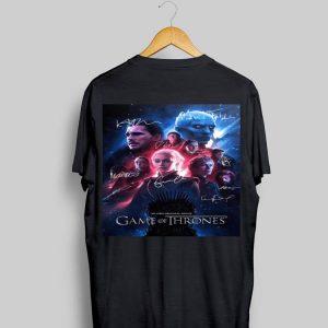 Game Of Thrones An HBO Original Series Signatures shirt