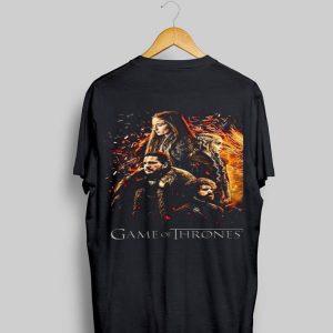 Game Of Thrones Kaos Daenerys Targarye Sansa Stark Jon Snown shirt