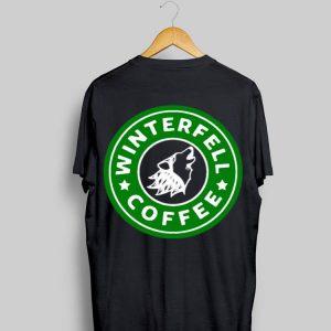 Game Of Thrones Starbucks Winterfell Coffee shirt