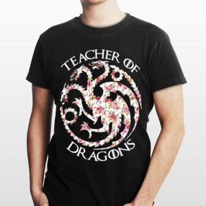 Game of Thrones Teacher Of Dragons Floral shirt