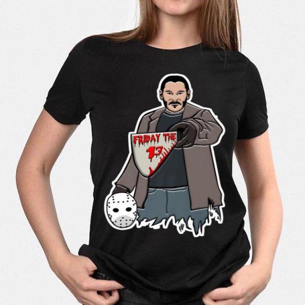 Halloween John Wick Friday The 13 shirt