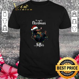 Hot All i want for Christmas is a Niffler shirt