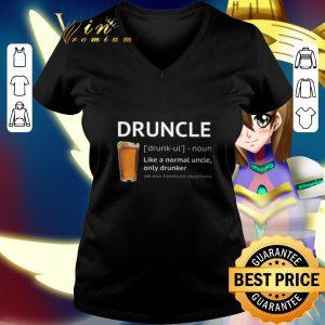Hot Beer Druncle like a normal uncle only drunker shirt