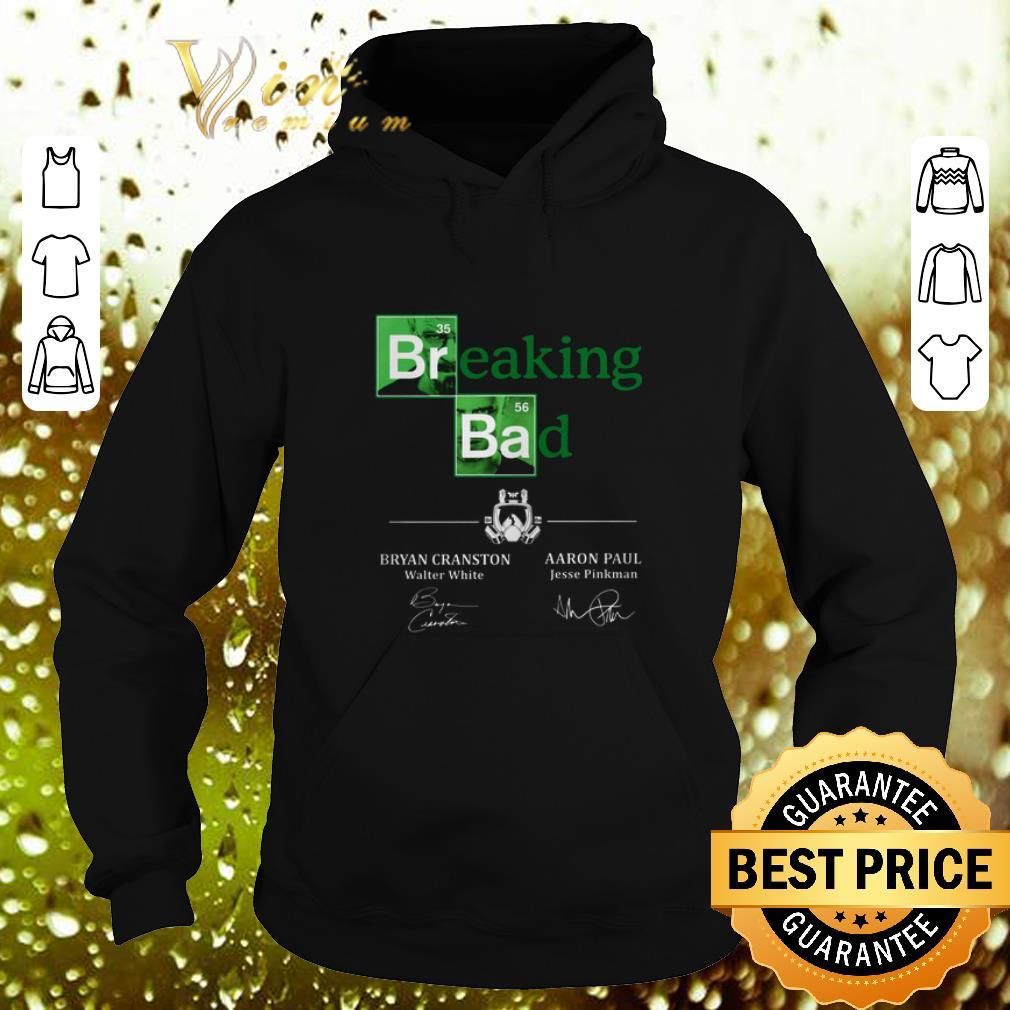 Hot Breaking Bad Bryan Cranston Aaron Paul Signatures shirt 4 - Hot Breaking Bad Bryan Cranston Aaron Paul Signatures shirt