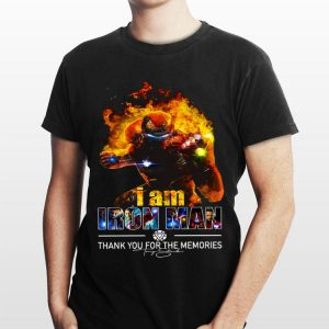 I Am Iron Man Thank You For The Memories Avengers Endgame shirt