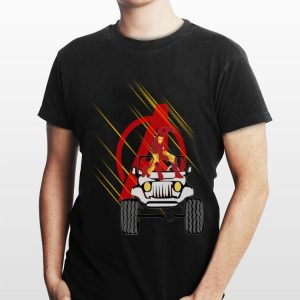 Iron Man Avengers Jeep Car Endgame shirt