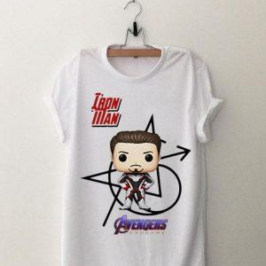 Iron Man Tony Stark Chibi Avengers Endgame shirt