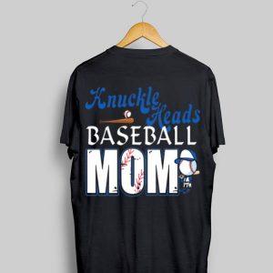 Knuckle heads baseball mom shirt