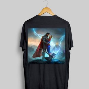 Marvel Avengers Endgame Thor Love Captain Marvel shirt