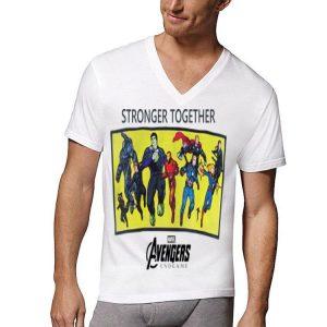 Marvel Avengers Endgame stronger together shirt