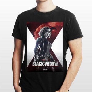 Marvel Studios Avengers Movie Black Widow shirt