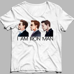I am Iron Man Avengers Tony Stark shirt