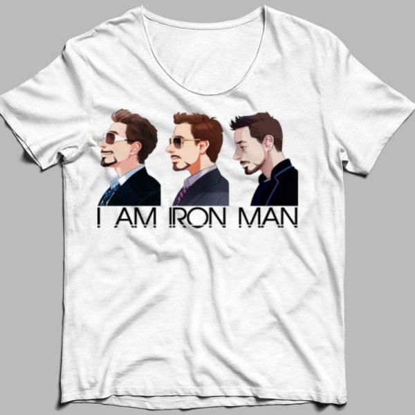 I am Iron Man Avengers Tony Stark shirt