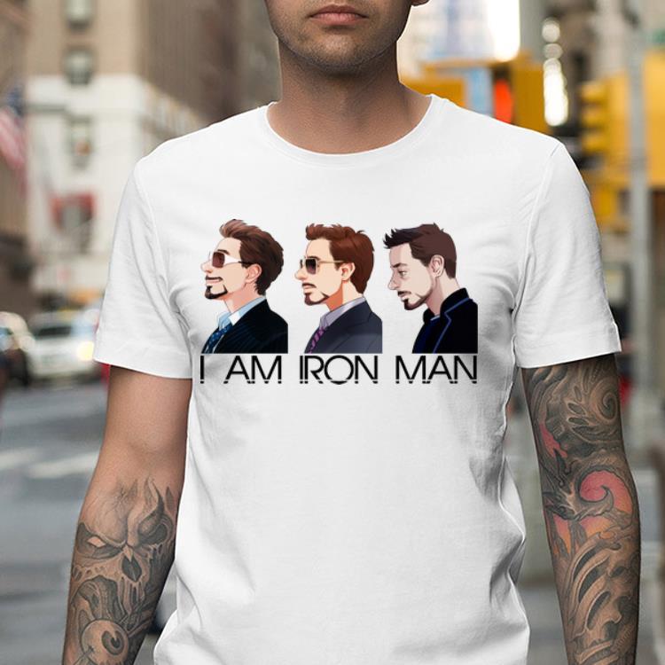 Mock2T 6 - I am Iron Man Avengers Tony Stark shirt