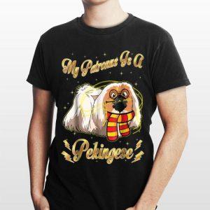 My Patronus Is A Pekingese Harry Dog Potter shirt