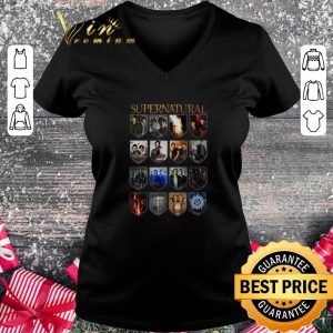 Nice Supernatural all season series episode shirt 1