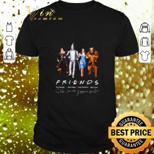 Nice The Wizard of Oz Friends Signatures shirt