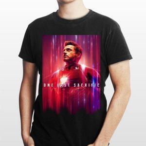 One Last Sacrifice Iron Man Tony Stark shirt